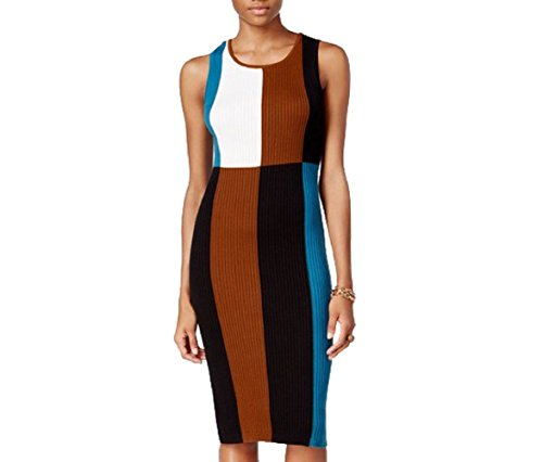 Dress III Sheath Colorblocked Bar Rainforest Ribbed IqZdR