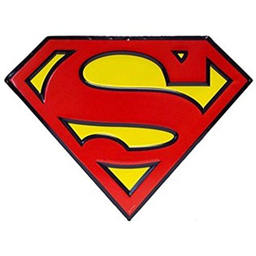 Superman Tin - Superman Shield DC Comics Tin Wall Decor