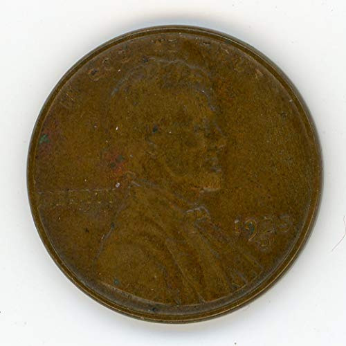 1925 D Lincoln (Cleaned?) Cent XF-40