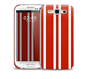 xmas stripes Samsung Galaxy S3 GS3 protective phone case