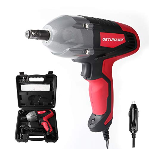 GETUHAND Electric Impact Wrench 1/2 Inch & 12 Volt 400N.M