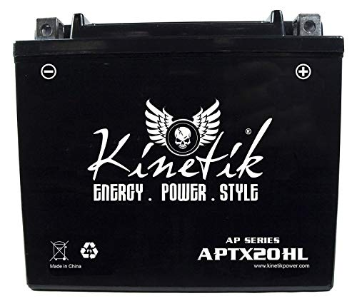 Kinetik 12V 18AH Battery for Yamaha 700 YFM7FG Grizzly 2007-2012