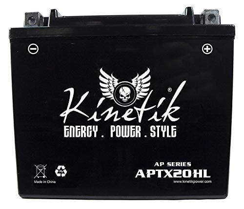 (Kinetik 12V 18AH SLA Battery for Polaris 550 IQ, LXT, Shift 2013)