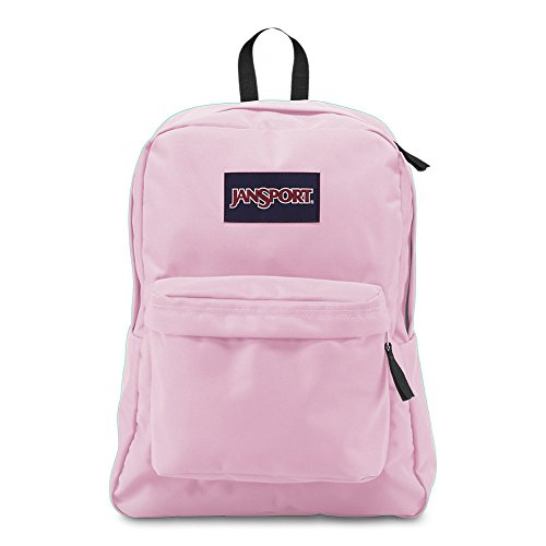 JanSport Superbreak Backpack - Pink Mist - Classic, Ultralight