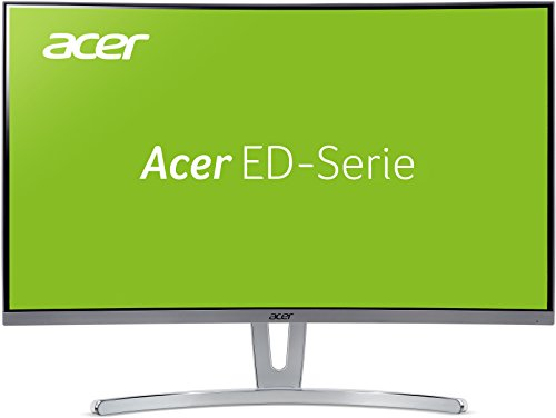 Acer ED273 27-inch Full HD Curved 1800R Monitor (VA panel, FreeSync, 4ms,...