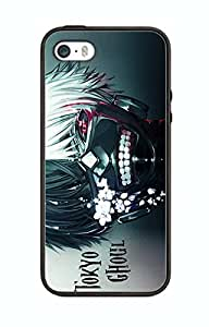 Case Cover Design Tokyo Ghoul Cartoon TG01 for Iphone 6 Plus Border Rubber Silicone Case Black@pattayamart