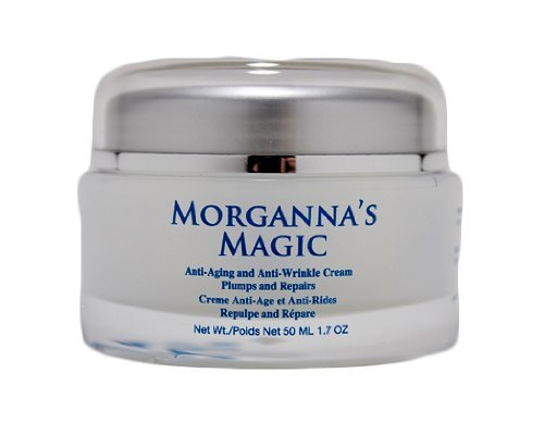 Anti Aging Cream Morganna's Magic By Morganna's Alchemy For Wrinkles and Fine Lines Get That Youthful and Vibrant Skin Back in Your Hands