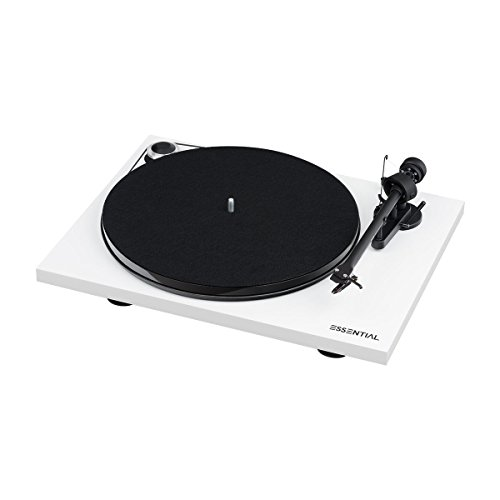 Pro-Ject Essential III Digital Turntable - White