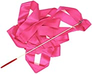 Baosity 4M Dance Ribbon Rhythmic Gymnastics Art Gymnastics Ballet Streamer Twirling