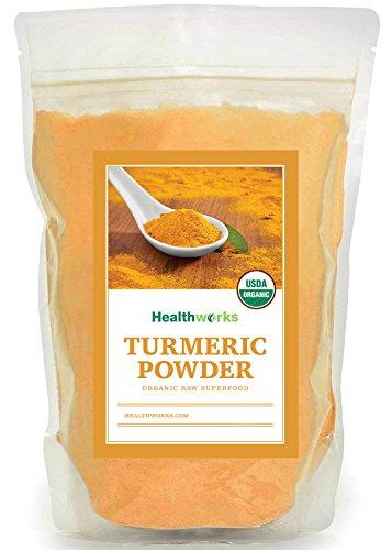 Healthworks Turmeric Root Powder (Curcumin) Organic, 8oz