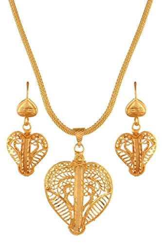 Variation Gold Plated Chain Pendant Sets – VD14656
