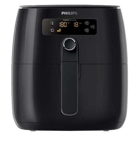 Philips HD9641 96 Avance Digital Turbostar Airfryer 1.8lb 2.75qt , Black Digital Renewed