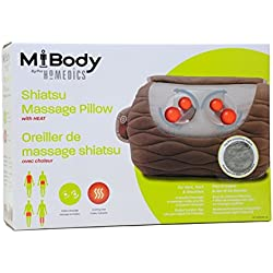 Homedics SP-30H Ultra Plush Shiatsu Massage Pillow
