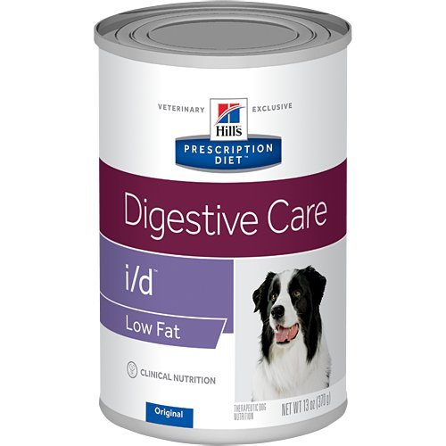 HILL'S Prescription Diet i/d Digestive Care Low Fat Original Flavor Pate Canned Dog Food 12/13 oz by HILL'S