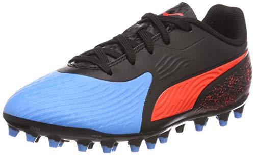bleu red Mg Zapatillas Azur Azul Jr Unisex De 4 Niños Black One puma Puma Fútbol 19 Blast wqOtPcg