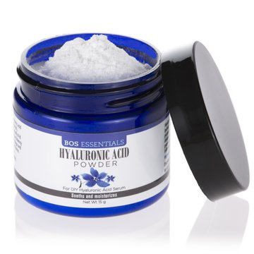 Pure Hyaluronic Acid Serum Powder | 100% NATURAL | High Molecular Weight |  Locks in moisture and creates full, youthful skin - Makes 35 ounces of anti