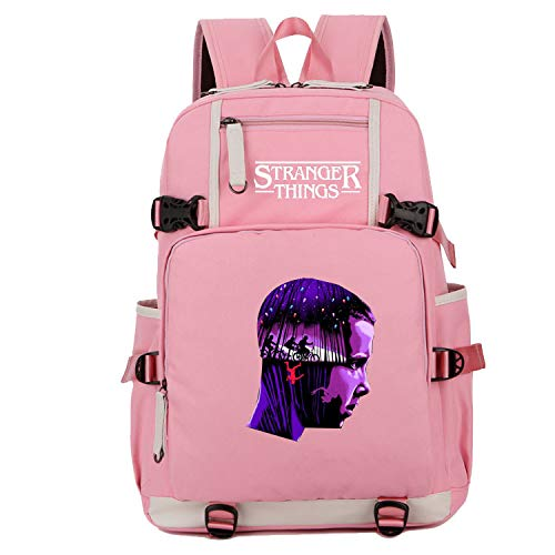 9ade0e5eb1c4 Unlimitedfy Stranger Things Backpack Schoolbag Bookbag for Boys Girls  Daypack Travelbag