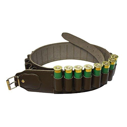 Bisley Leather 25 Shotgun Cartridge Belt - 12 Gauge loops - 38 to 44 inch