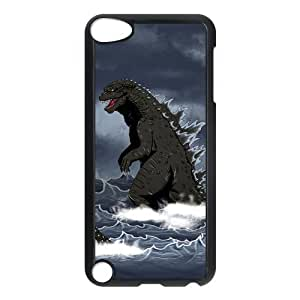 Custom Your Own Unique Godzilla Ipod Touch 5th Cover Snap on Godzilla Ipod 5 Case