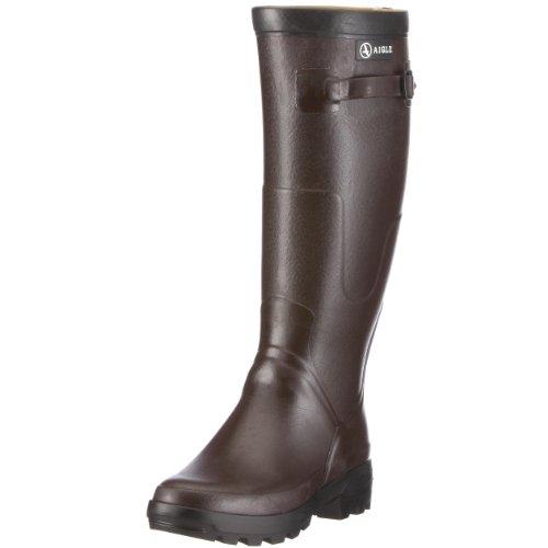 Aigle Benyl XL 85799, Stivali di gomma unisex adulto Marrone (Braun (Brun))