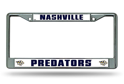 Nashville Predators License Plate Frame - 4