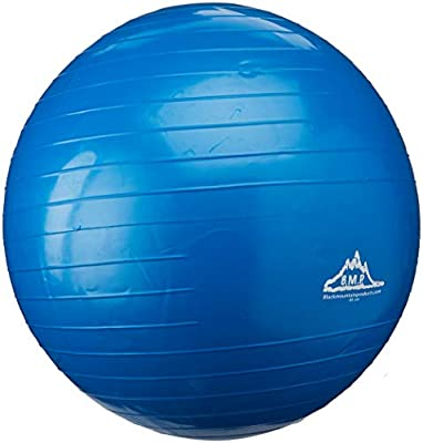 Black Mountain Products 2000lbs Static Strength Exercise Stability Ball with Pump from Black Mountain Products