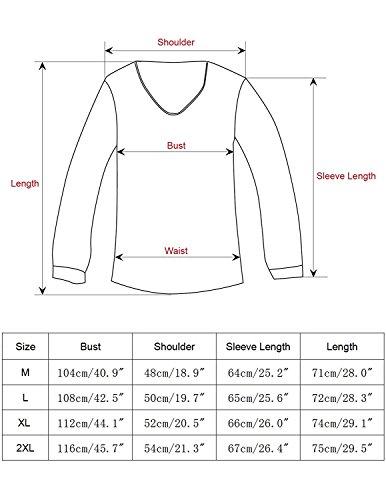 b7da460f7928a STTLZMC Mens Polo Shirts Long Sleeve Casual Slim Fit Button Golf T-Shirts