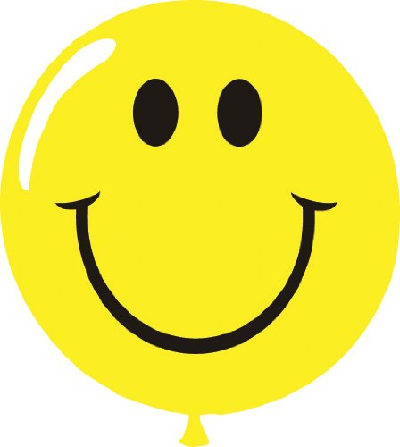 Yellow Smiley Face Balloons (100/Pack) ()