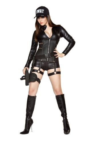 Roma-Costume-2-Piece-Sexy-Swat-Costume