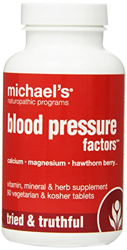 Michael's Naturopathic Programs Blood Pressure Factors Nutritional Supplements, 90 Count