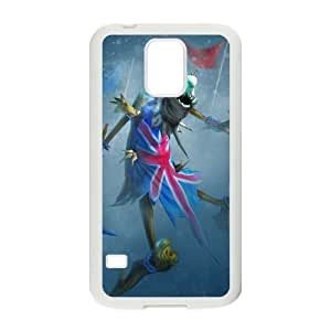 Samsung Galaxy S5 Cell Phone Case White League of Legends Union Jack Fiddlesticks OIW0407533