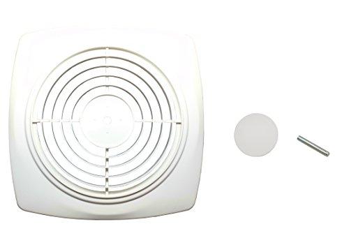 NuTone S97011919AMZ Bathroom Fan Cover, White