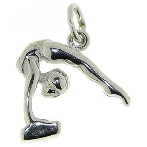 Derby Anhänger Turnerin Sterling-Silber 925 - 23125