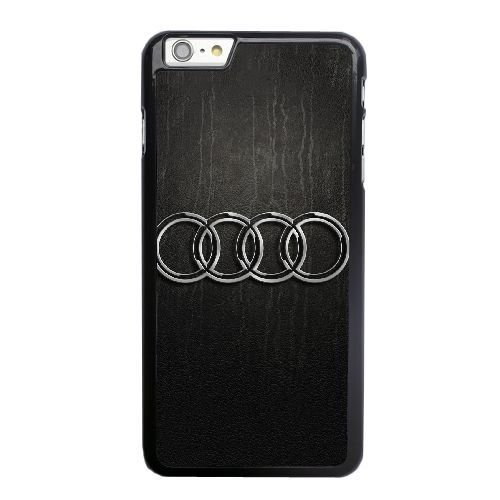 Grouden R Create and Design Phone Case,Audi Logo Cell Phone Case for iPhone 6 6S 4.7 inch Black + 1*Touch Stylus Pen (Free) GHL-6129502