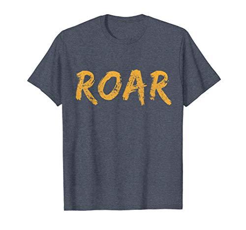 Tiger Sound Roar Distressed State Louisiana Shirt ()
