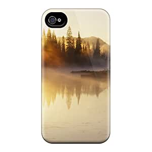Durable Protector Case Cover With Fogy Water Hot Design For Iphone 4/4s
