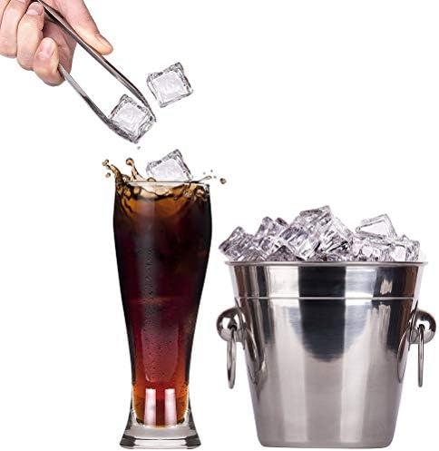 2 x Zuckerzange Eiszange und 3 x Mini-Messlöffel, Servierzange, Schaufel, Gadgets für Süßigkeiten und Partys