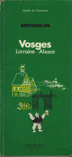 Vosges, Lorraine-Alsace, Michelin, Guide de Tourisme