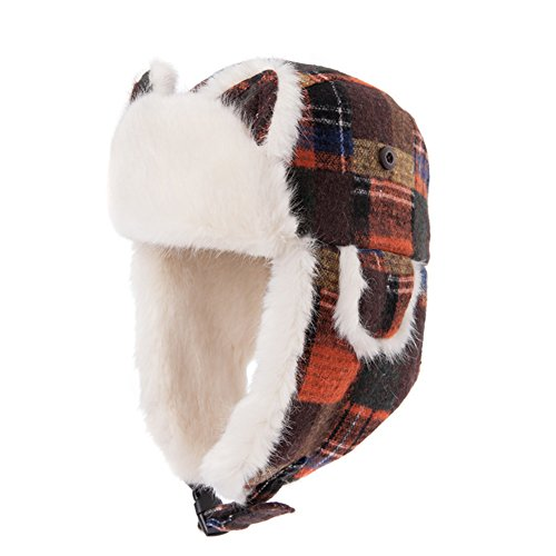 Autumn outdoor Lei Feng Cap/cartoon helmet/Ladies warm air in autumn and winter ski hat-A One Size