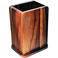 Davis & Waddell Essentials Acacia Wood Utensil Holder