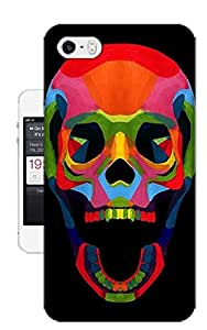 MaskShow Cool Skull2 TPU Phone Case For iphone5 5s