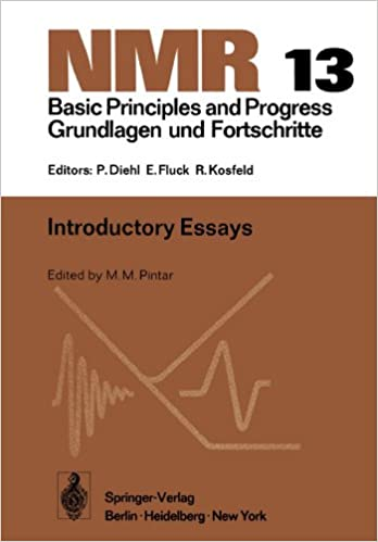 Book Introductory Essays (NMR Basic Principles and Progress)