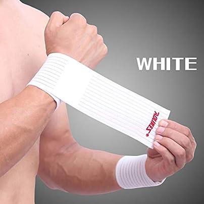 ANyHXii 1PCS Outdoor Sport Injury Bandage Adjustable Wristbands Elaborate Elbow Wrist Support Compression Wrap Wrist Brace Guard Estimated Price £51.12 -