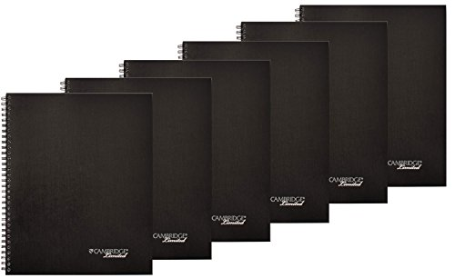 Cambridge Limited Meeting Planner Pack Of 6