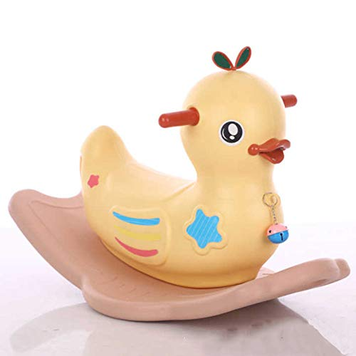 Rocking Horse Baby Toy,Little Yellow Duck for Baby 1-3 Years,Nursery, - Duck Rocking