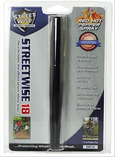 Streetwise Pepper Spray disguised as a pen 18,000 SHU 1/2 -