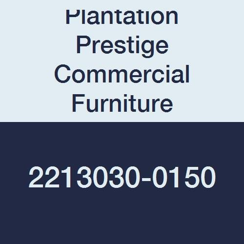Plantation Prestige Commercial Furniture 2213030-0150 Solid Table Top, Steel Material Type, 30'' x 30'', Charcoal by Plantation Prestige Commercial Furniture