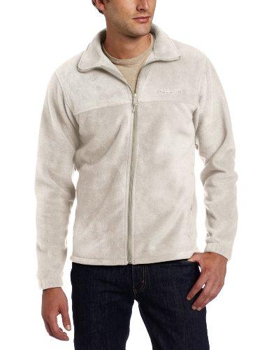 Columbia Men's Steens Mountain Full Zip 2.0 Soft Fleece Jacket, Tusk, 6X