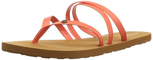 Image of Volcom Women's Easy Breezy Jesus Thong Synthetic Leather Sandal Flat