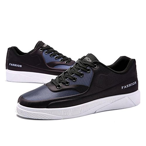 Men's Shoes Feifei Spring and Autumn Fashion Movement Leisure Wear-Resistant Plate Shoes 3 Colors (Color : 02, Size : EU40/UK7/CN41)